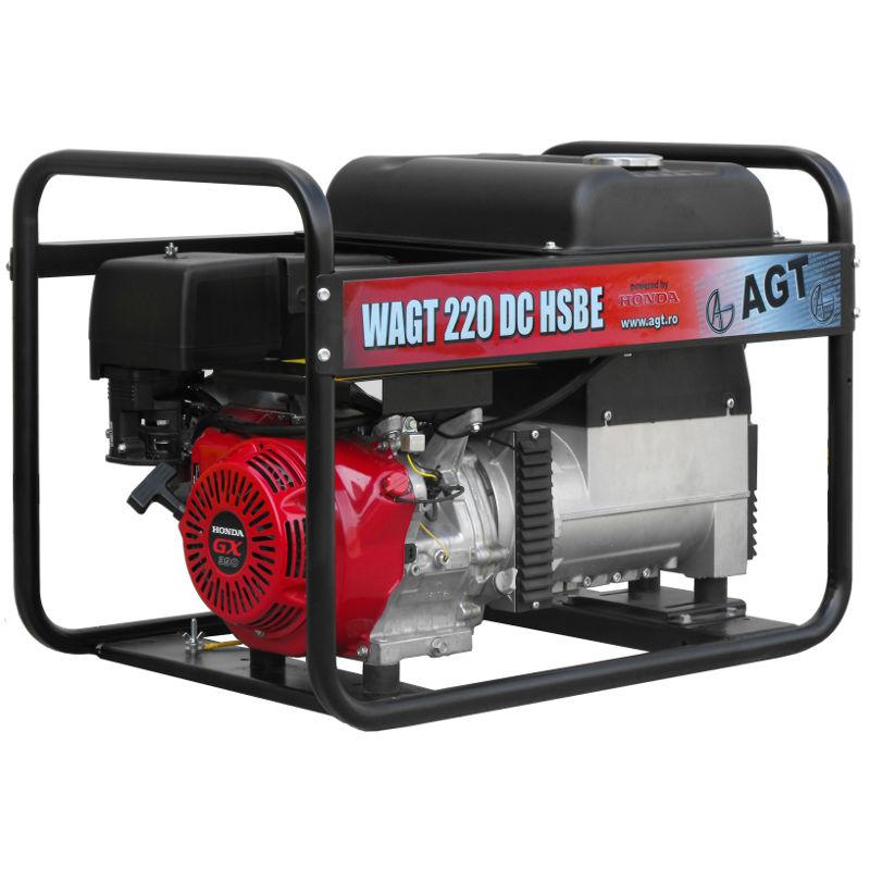 Generator cu sudura WAGT 220 DC HSBE R26 - lascule.ro