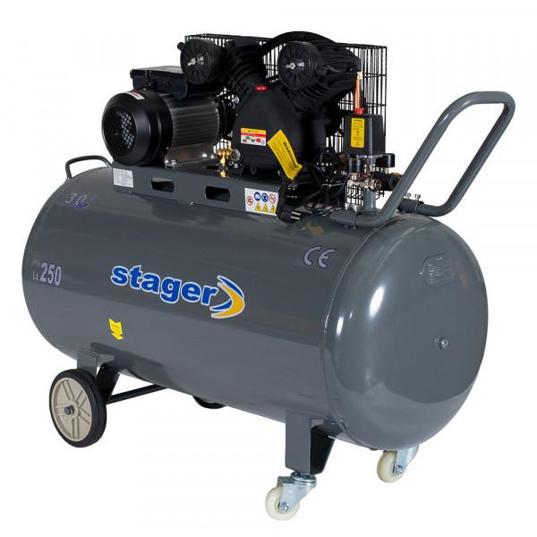 Compresor cu piston Stager HM-V-0.6/200 - lascule.ro