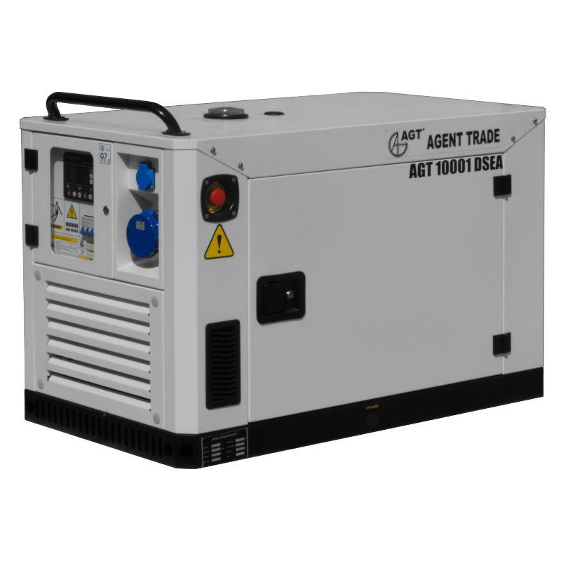 Generator de curent AGT 10001 DSEA cu automatizare - lascule.ro