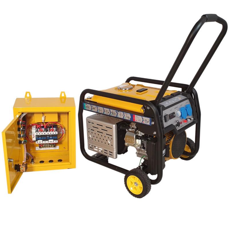 Generator de curent STAGER FD3600E+ATS-lascule.ro