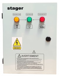 Automatizare monofazata Stager 63Ah