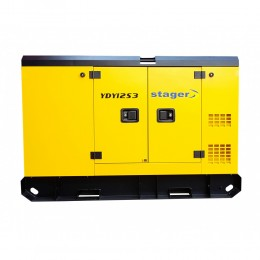 Generator de curent Stager YDY12S3, silent 1500rpm, diesel, trifazat-lascule.ro