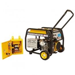Generator de curent STAGER FD6500E+ATS-lascule.ro