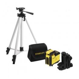 Nivela laser STANLEY 360 grade cu trepied