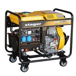 Generator cu sudura Stager YDE6500EW - lascule.ro